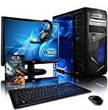 "VIBOX Precision Desktop Gaming PC Package 6 - with WarThunder Game Bundle, 22"""