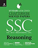 Chapterwise Solved Papers SSC Staff Selection Commission Reasoning 2017