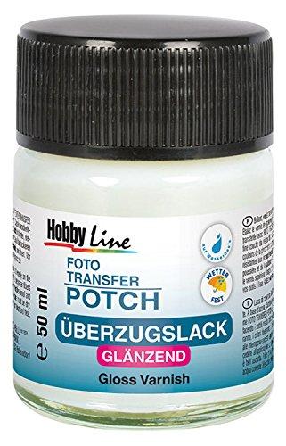 Hobby Line 49981 - Foto Transfer Potch Überzugslack Glänzend, farblos