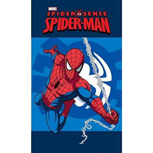 Asciugamano 40x 60cm Spiderman in 100% cotone