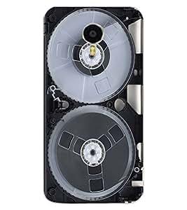 ColourCraft Retro Video Cassette Design Back Case Cover for MEIZU M3 NOTE