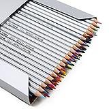 Vicloon Marco Lápices 72 Lápices Color Coloreado Lápices de Dibujo del Dibujo del Arte del Arte Para el Libro Bosquejo del Artista Bosquejo del Artista/Adulto para Colorear de Jardín Secreto/Los niños del Artista Redacción/Manga Ilustraciones (72 Colores)