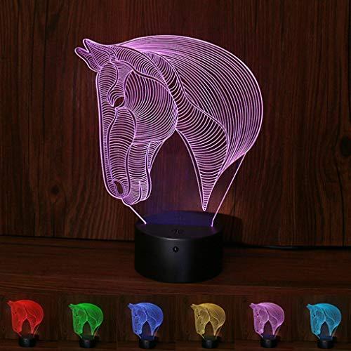 Lampe 3d Illusion Lampe Chimpanzé 7 Couleurs Changeantes