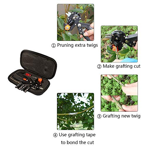 Zoom IMG-2 giardino innesto kit di attrezzi