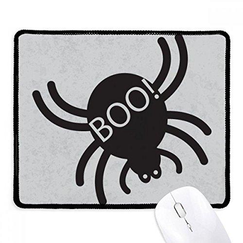 DIYthinker Halloween Schwarz Spider Griffige Mousepad Spiel Büro Schwarz Titched Kanten Geschenk
