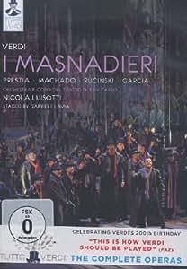 Verdi: I Masnadieri  [DVD] [2012] [NTSC]