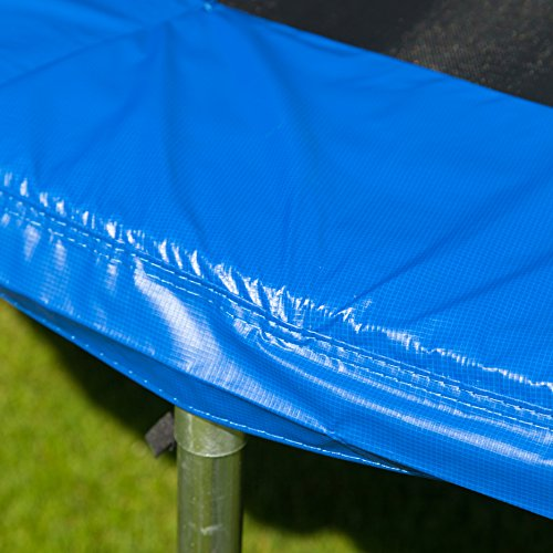 Ultrasport Trampolin Randabdeckung, Blau, 251 cm -