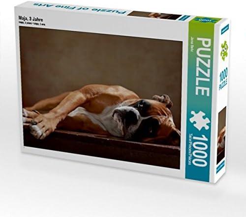 CALVENDO Puzzle Maja, 3 Jahre 1000 Teile Lege-Grösse 64 x 48 cm Foto-Puzzle Bild Von Behr Jana | Des Produits De Qualité,2019 New