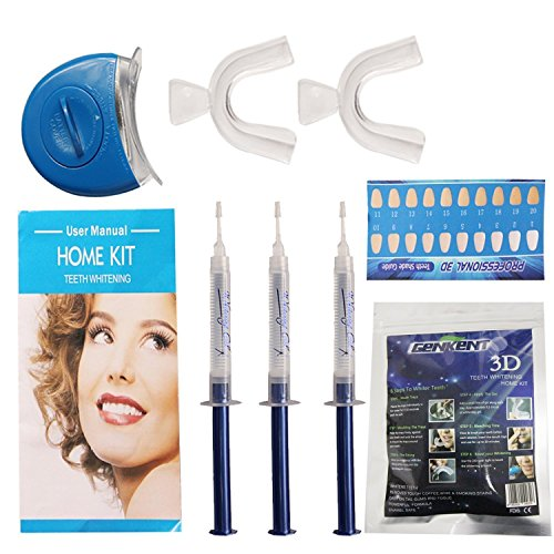 G-Smart-Zahnweiß -Kit. Pro Home Tooth Dental Care Weiß 3x GEL Bleaching Kit Advanced Light Whitener
