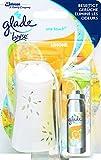 Glade By Brise One Touch Minispray, Für sofortige Frische zum Beseitigen von Gerüchen, Mit Nachfüller (10 ml), Fruchtiger Limonen-Duft