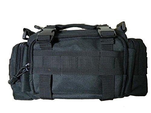 CHT Herren-Tarnung Im Freien Bewegliche Schulter Umhängetasche Diebstahl Multifunktionstaschen Lässig Taktik 35 * 9 * 15cm Farbe Optional Black