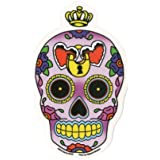 "Sunny Buick - Heart Lock Sugar Skull autocollant Sticker - 3.5 x 5.75"" - Weather Resistant, Long Lasting for Any Surface"