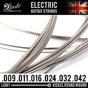 Electric Guitar Strings Amazon Uk : lindo electric guitar string strings nickel round wound light musical instruments ~ Hamham.info Haus und Dekorationen