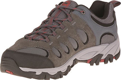 merrell-ridgepass-bolt-mens-low-rise-hiking-shoes-grau-granite-red-ochre-9-uk