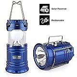 #6: SaleOn Lantern LED Solar Emergency Light Bulb With Mobile Charging Facility-023 (Blue)