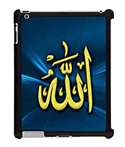 Fuson 2D Printed Lord Allah Designer Back Case Cover for Apple iPad 4 - D546