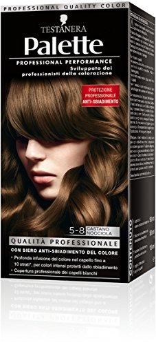 teinture pour les cheveux 5-8 brun nocciola
