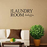 wassaw Laundry Room Laundry New European And American English Proverbs Wall Sticker Simple Waterproof Can Remove Pvc Sports Indoor Baby Eagle Love Home Office