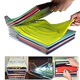 zero81store® 081 store - 30 pack-Organizer Per Armadio, UM Closet Organizer Camicia Cartella | Dimensioni Regolari, 30-pack