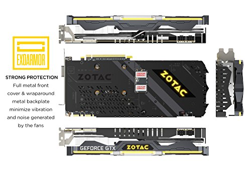 Zotac GeForce GTX 1080 Ti 11 GB AMP Extreme Video Card (ZT-P10810C
