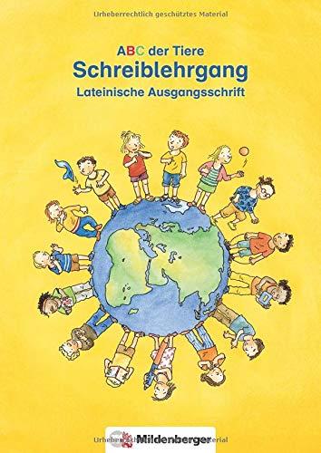 ABC der Tiere - Schreiblehrgang LA in Heftform: Der lehrwerksunabhängige Schreiblehrgang in Heftform für die Lateinische Ausgangsschrift.