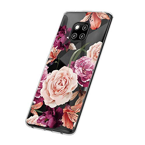 Hülle für Huawei Mate 20 Pro, Huawei Mate 20 Lite Schutzhülle Transparent Weiche Silikon Handyhülle TPU Handy Kratzfest Kreative Motiv Muster Clear Schutz für Mate 20 Lite (Huawei Mate 20 Pro, 9)