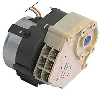 Crouzet T600 627//5280 Timer Laufzeit 120s 230V 2 Kammer Achse /ø 6x4,6x20mm 1 Motorentyp 82340 230V n