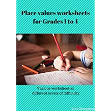 Place Value worksheets for Grades 1 to 4