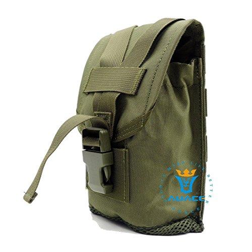 Tactical Gear multifunzione Survival tasche, tasche con Molle Tactical borse da campeggio-Marsupio attrezzi da viaggio per cellulare OD