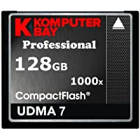 Komputerbay 128GB professionale COMPACT FLASH CARD CF 1000X 150MB/s di