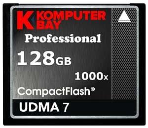 Komputerbay 128Go Professional CARTE COMPACT FLASH 1000X 150 Mo/s CF Extreme Speed UDMA 7 RAW 128Go