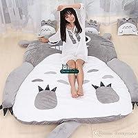 Preisvergleich für Unbekannt Totoro Matratze, 130 x 190 cm, weich, dick, Comic-Zeichnung, faulige Matratze, süß, Chinchilla
