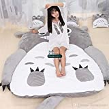 Unbekannt Totoro Matratze, 130 x 190 cm, weich, dick, Comic-Zeichnung, faulige Matratze, süß, Chinchilla