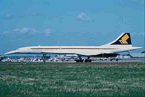 metal-sign-576038-singapore-airlines-concorde-london-heathrow-uk-a4-12x8-aluminium