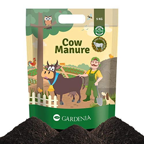 Ugaoo Cow Manure 5 Kg - Organic Fertilizer for Home & Garden Plants