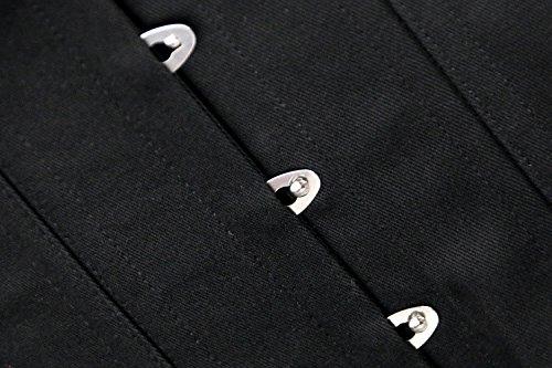 f300917b7b Charmian Women s Long Line Cotton 26 Steel Double Boned Overbust Long Torso  Corset