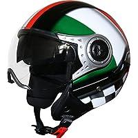 Reithelme & -schutzkleidung Reithelme Viper Rs-04 Italien Offenes Gesicht Roller Motorrad Mod Retro Helm