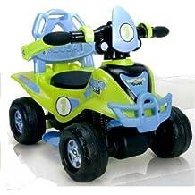 Injusa - Correpasillos Buddy Quad, con sonidos, color verde y azul (135)