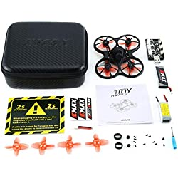 LouiseEvel215 Mini Indoor FPV Racing Drone Drone Brushless 37CH 20mW 4 en 1 5A F4 Controlador de Vuelo 600TVL Cámara RC Drone