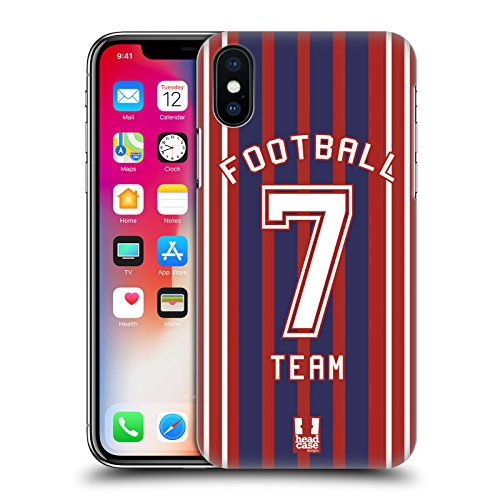 Head Case Designs American Football Sportshirt Ruckseite Hülle für Apple iPhone 5 / 5s / SE Fussball