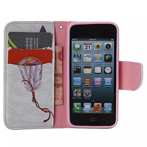 PU Silikon Schutzhülle Handyhülle Painted pc case cover hülle Handy-Fall-Haut Shell Abdeckungen für Smartphone Apple iPhone 5 5S SE +Staubstecker (11LC) 9
