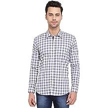 Mens Long Sleeve Checks Shirt