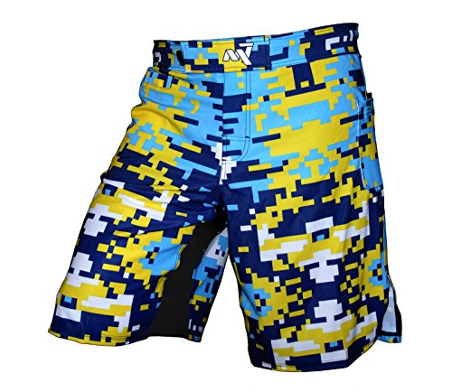 CrossFit Kurzschlüsse. KickBox-Shorts. Männer MMA Shorts, Trainingshosen. DigiCamo