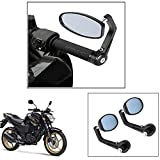 Vheelocity Motorycle Bar End Mirror Rear View Mirror OvalFor Yamaha Fz