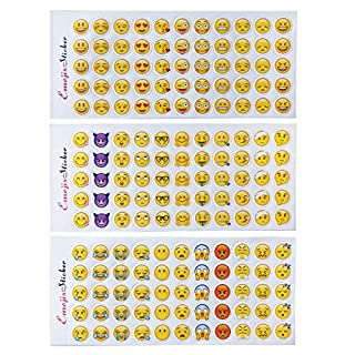 Emoji Sticker 660 Stück Emoji Aufkleber coole Sticker Für Kinder und Erwachsene