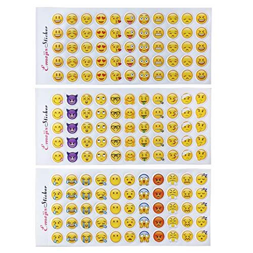 emoji aufkleber Emoji Sticker 660 Stück Emoji Aufkleber coole Sticker Für Kinder und Erwachsene