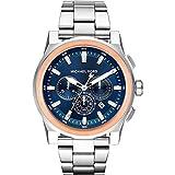 Michael Kors Herren Analog Quarz Uhr mit Edelstahl Armband MK8598