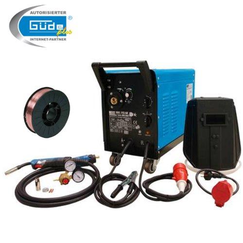 Preisvergleich Produktbild Güde Schutzgas Schweißgerät MIG 192/6K + 5Kg Schweißdraht