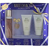 Elizabeth Taylor's White Diamonds 4 Pc Gift Set For Women Includes 1.7 Oz Cologne (EDT) Spray