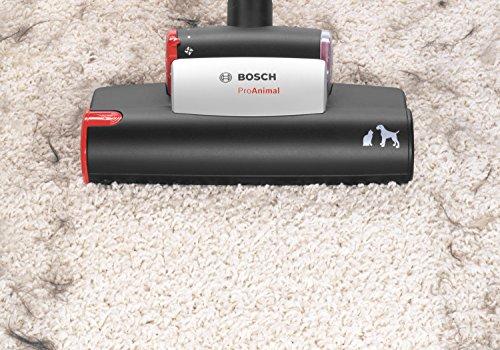 Bosch BGL45ZOO1 Bodenstaubsauger Zoo'o ProAnimal, EEK C mit Beutel, gründliche Reinigung von Tierhaaren, Animal 360 Paket, tornadorot - 6